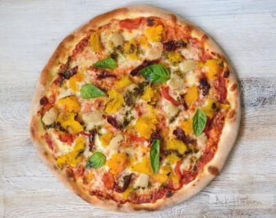 pizza vegetariano vero