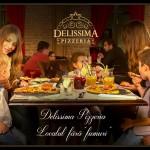 Un local fără fumuri… Delissima Pizzeria