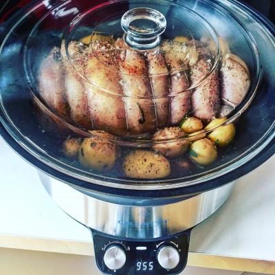 carne în crockpot