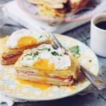 Sandwich-uri calde (Croque madame et monsieur)
