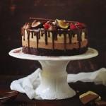 Tort trio de ciocolată