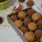Degustare de trufe de ciocolată