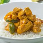 Curry tomnatic de pui