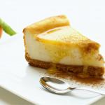 Cheesecake cu lichior de ou și peltea de portocale