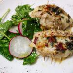 Pui italian cu salată de primăvară