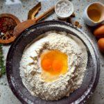 Paste proaspete cu vită, ciuperci și pesto cu trufe