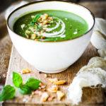 Supă cremă de leurdă și cartofi