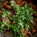 Veal tail stew
